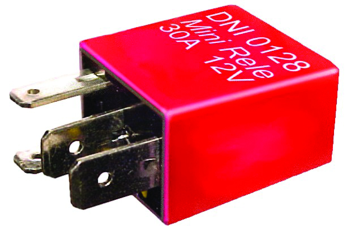 Rele Mini Auxiliar - Rele - jac Motors - J3 Todos Os Anos