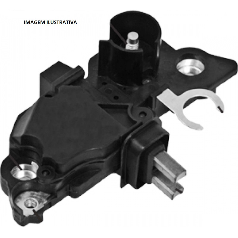 Regulador Voltagem Alternador Denso 12v - - - Regulador Volt